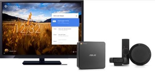 谷歌推Chromebox视频会议系统:999美元