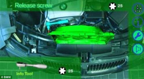 宝马推出智能眼镜:可指导用户修理汽车