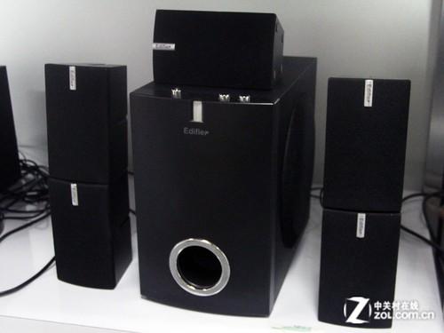 低音澎湃震撼 漫步者5.1组合音箱599元