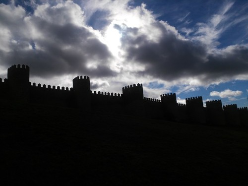 迷失在中世纪 行摄中的阿维拉古城游记