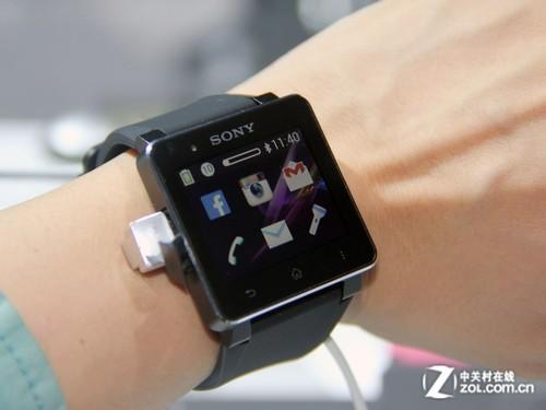 时尚佩戴舒适 索尼智能手表细节图