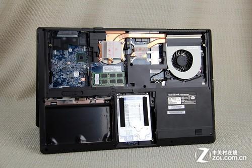 神舟(神舟)战神 k660e笔记本电脑拆解图评测-zol手机