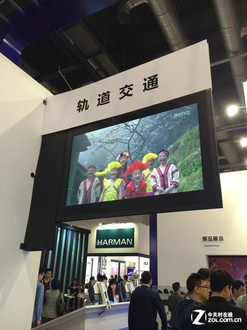 Infocomm 2014:明基商用显示屏有精彩