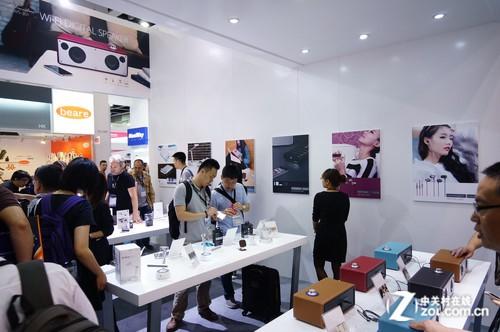 2014香港春季电子展 GGMM台灯音响展示