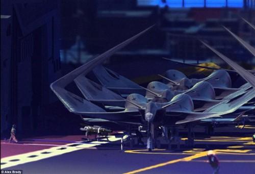"""天啊!这些""""怪物""""竟是未来人类飞行器"""
