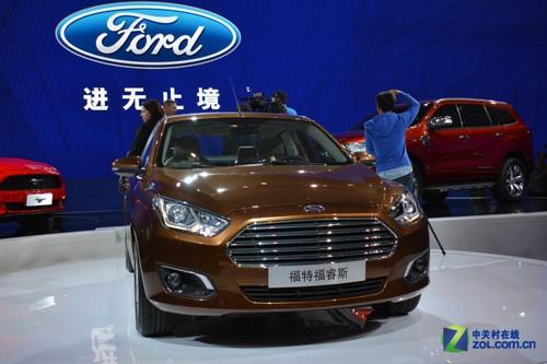 北京车展全球首发 长安福特福睿斯图赏