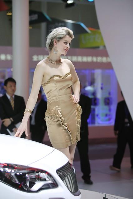 2014第十三届北京车展 别克展台模特