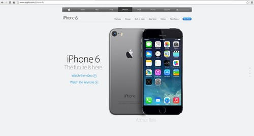 iphone 6概念设计图 借鉴touch 5外形_苹果新闻