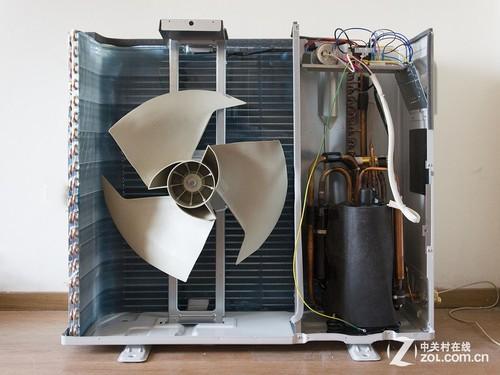 科龙新立柜空调拆解