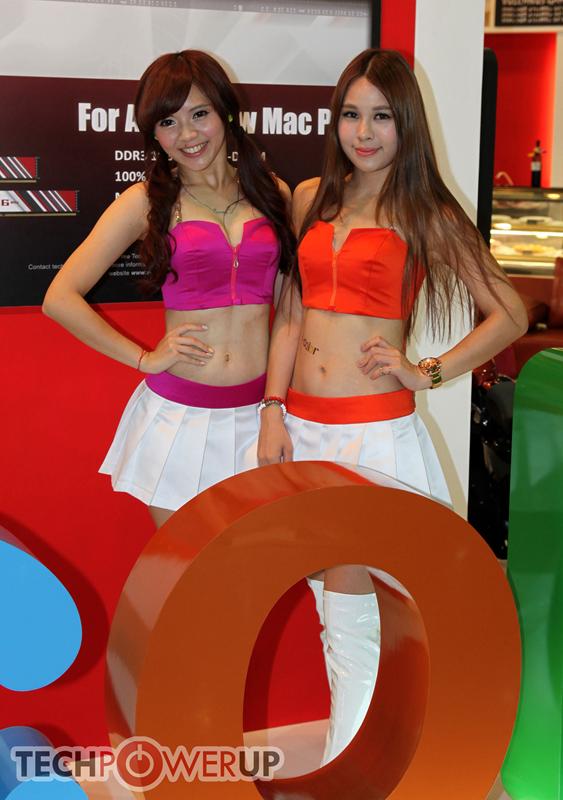 台北电脑展又一大波妹子来袭 130张ShowGirl美图一网打尽的照片 - 41
