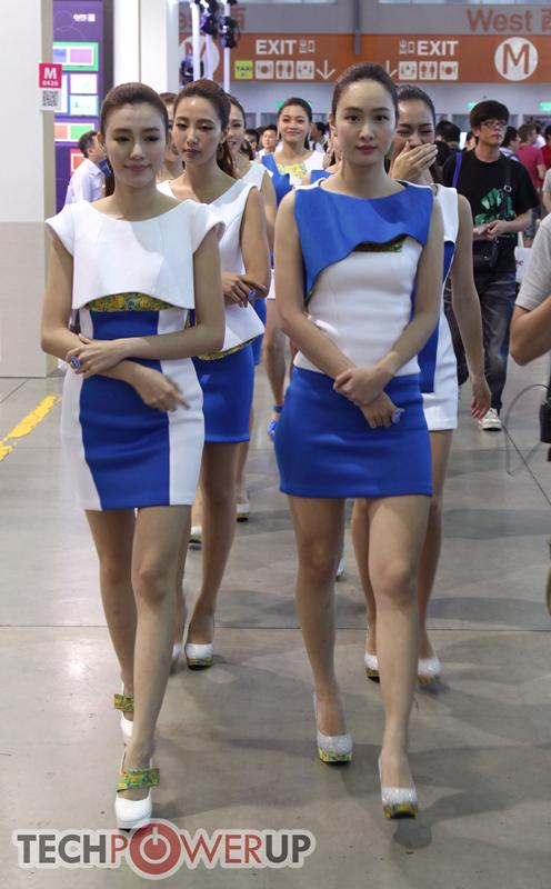 台北电脑展又一大波妹子来袭 130张ShowGirl美图一网打尽的照片 - 95
