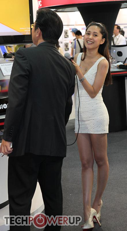 台北电脑展又一大波妹子来袭 130张ShowGirl美图一网打尽的照片 - 117
