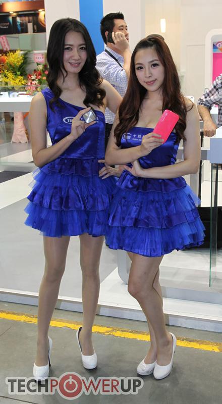 台北电脑展又一大波妹子来袭 130张ShowGirl美图一网打尽的照片 - 22