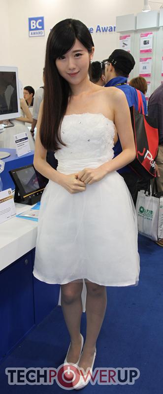 台北电脑展又一大波妹子来袭 130张ShowGirl美图一网打尽的照片 - 15