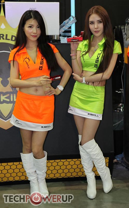 台北电脑展又一大波妹子来袭 130张ShowGirl美图一网打尽的照片 - 7
