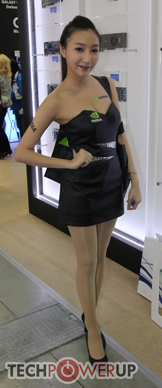 台北电脑展又一大波妹子来袭 130张ShowGirl美图一网打尽的照片 - 32