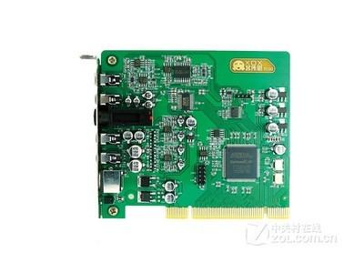客所思P100内置声卡 电脑网络K歌声卡 PCI插槽电音声卡