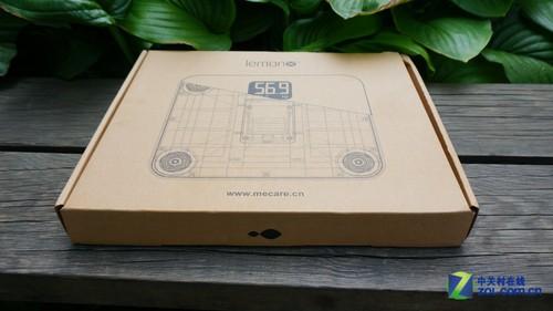 简洁时尚 麦开智能体重计W100-G开箱
