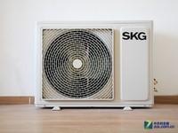 专业级防护 SKG大1匹变频空调暴力拆解