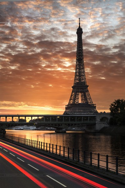 埃菲尔铁塔的绝美影像