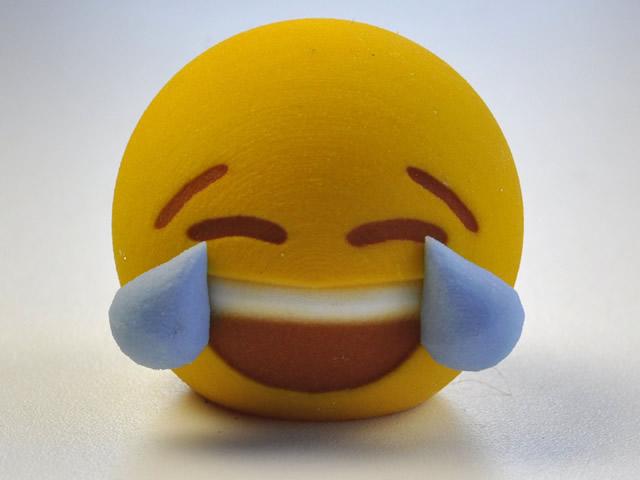 哭闹可爱傻笑 3d打印搞怪emoji表情