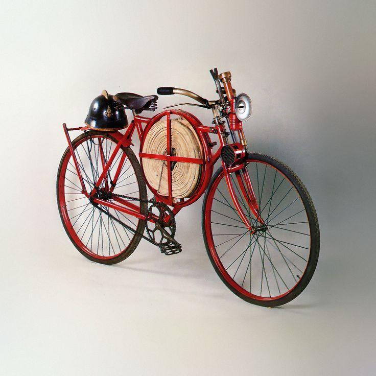 【高清图】 百年古董 1905年英国bsa消防员自行车图4