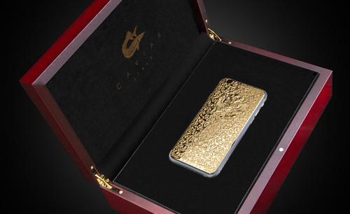 土豪快来买 雕花黄金版iPhone6限量发售