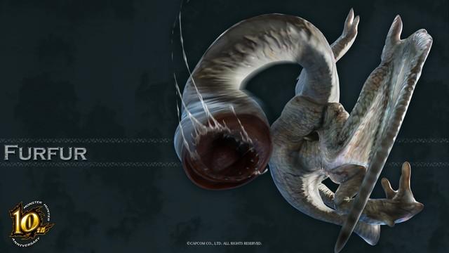经典值得收藏:怪物猎人十周年官方壁纸