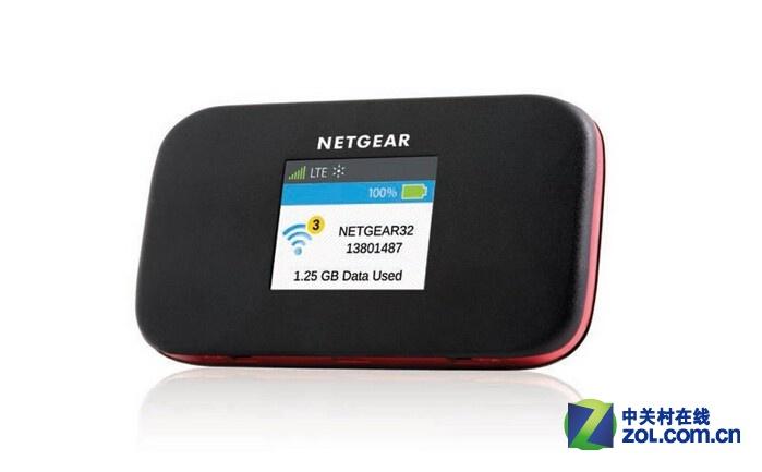 Netgear Around Town是一款4G MiFi产品,其可支持10个WiFi客户端,并且拥有12小时的续航能力,售价200美元!