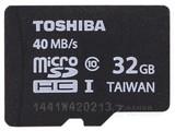 东芝超高速microSD卡 Class10(32GB)/SD-C032GR7AR040ACH