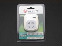 坚固实用配USB 公牛旅游者转换器图赏