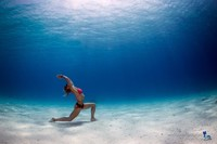 别样人像拍摄 看水下摄影的精彩照片