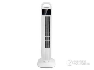 美的电风扇家用静音塔扇节能强力冷塔扇无叶柔风FZ10-15BW