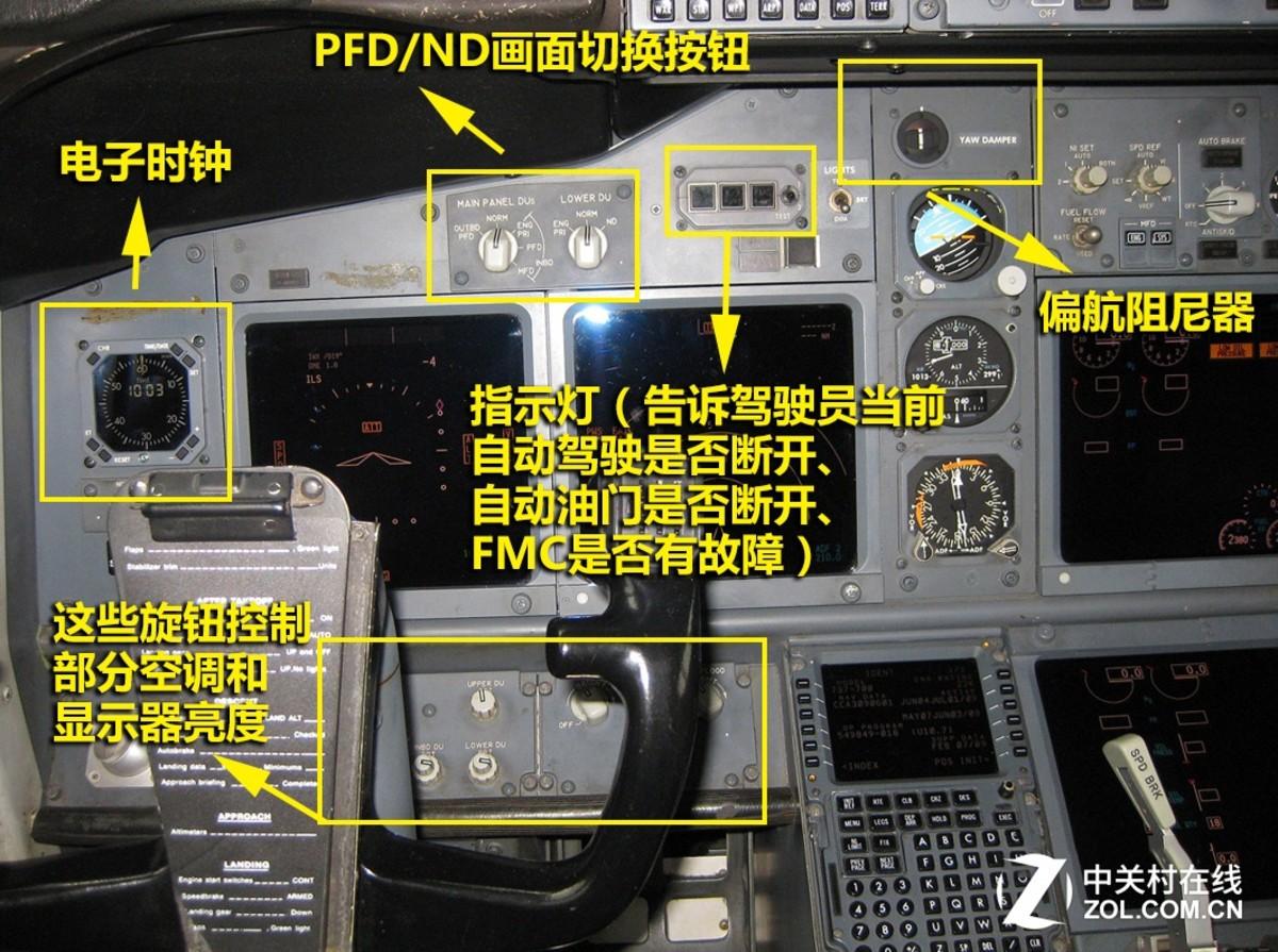 【高清图】天使与魔鬼6:走进波音737飞机驾驶舱中 图9