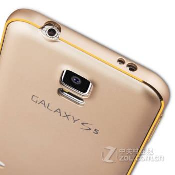 三星galaxy s5圆弧款金属边框手机保护壳】