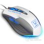豹勒S3(Boblen) 电脑有线专业游戏鼠标 LOL/CF笔记本电竞光电鼠标无声网吧鼠标 6D终极版 象牙白-无声