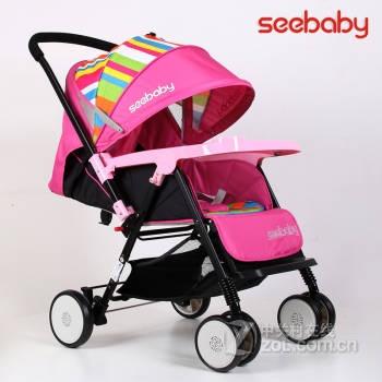 圣得贝婴儿手推车宝宝好孩子双向婴儿车可平躺坐睡