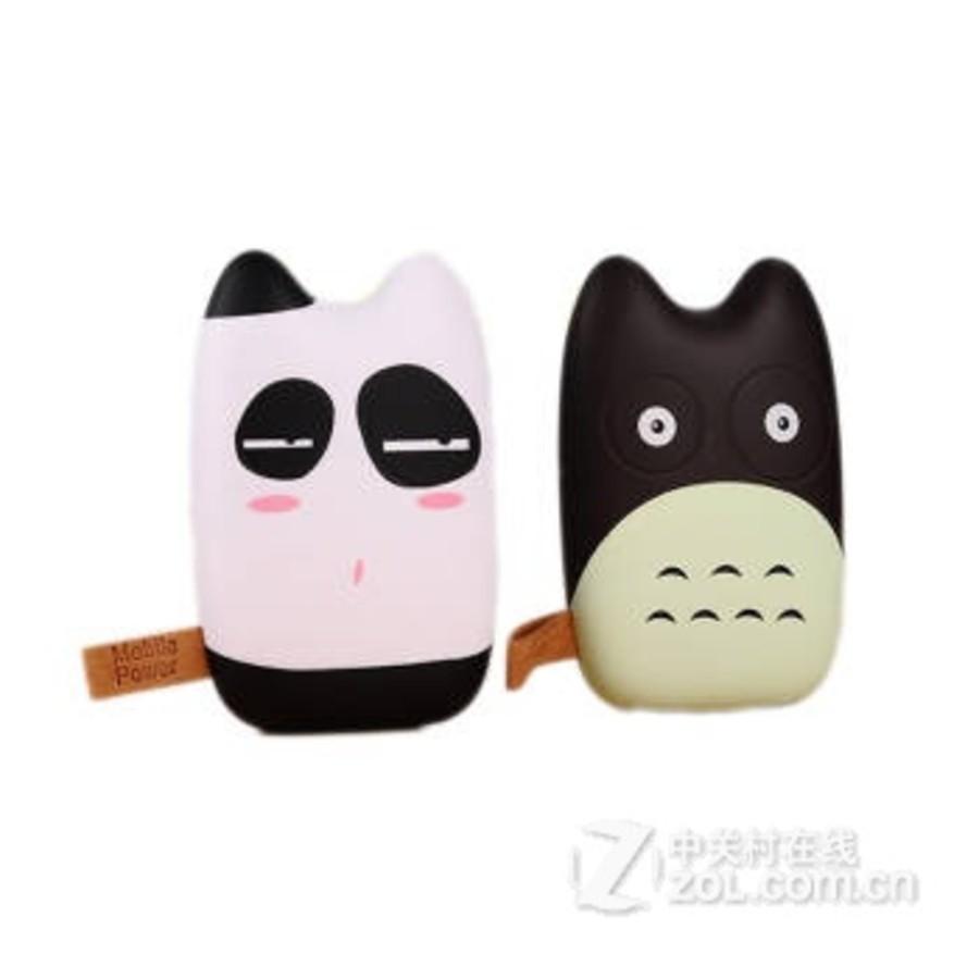 英歌卡通龙猫充电宝手机通用移动电源迷你可爱创意便携10400萌女 呆呆