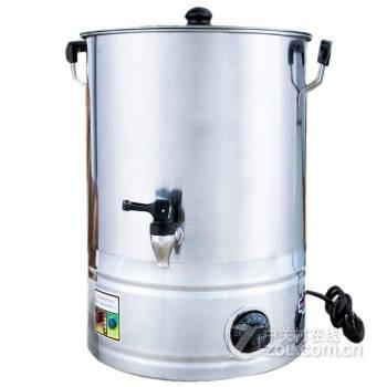 不锈钢商用大号带温控电热开水桶烧水器