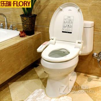 乐瑞flory智能马桶盖洁身器卫洗丽坐便器盖板马桶圈