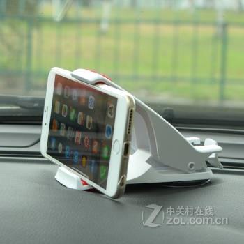 伴君 车载手机支架 汽车gps导航仪支架 小米三星苹果车用手机夹中控台