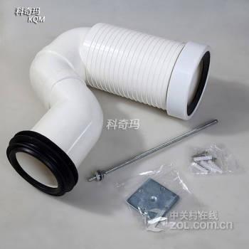 移位器马桶可调节加长排污管墙排改地排转接pvc接头