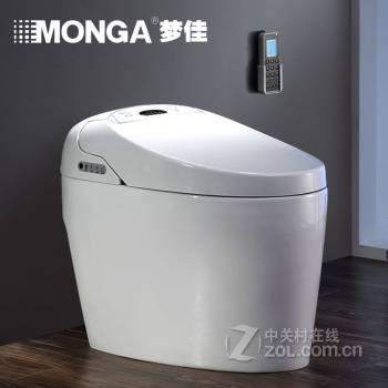 梦佳卫浴mg2510b-ha30智能马桶一体智能坐便器300400