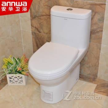 安华卫浴 抽水节水坐便器