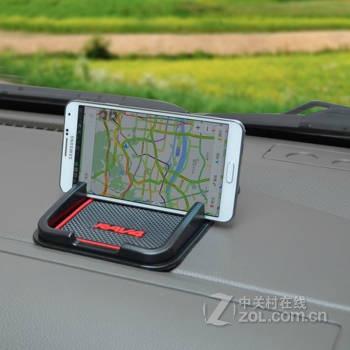 领贤汽车专用防滑垫 多功能硅胶手机防滑垫 汽车手机导航支架 车载置