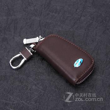 beisiku 现代真皮钥匙包 名图ix35ix25朗动 胜达专用汽车钥匙套/扣/壳