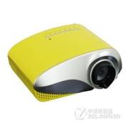 瑞格尔(Rigal)RD-802 家用包邮LED投影机 家用看片性价比之王 便携投影机 黄色