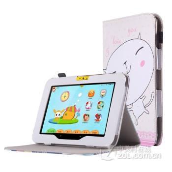 索士小天才早教机k1儿童平板电脑k1专用皮套k1s保护套小天才k1支架壳