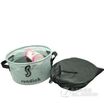 pvc便携折叠水盆洗脚盆洗脸盆折叠盆钓鱼水桶热水