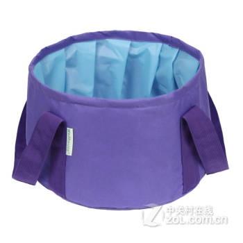 【折叠水盆钓鱼桶便携式可装热水洗脸盆洗脚盆水桶